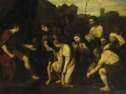 The Continence of Scipio | Benjamin West | Oil Painting
