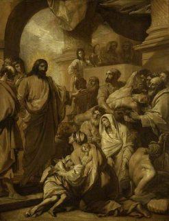 Christ Healing the Sick | Benjamin West | Oil Painting