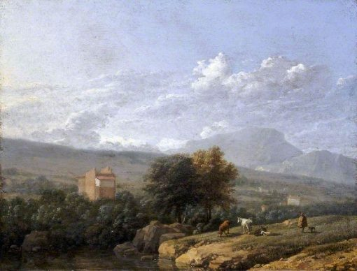 Italian Landscape | Carel Dujardin | Oil Painting