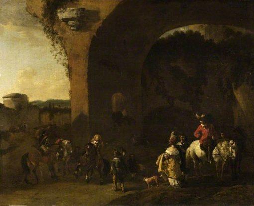 Travellers Resting | Carel Dujardin | Oil Painting