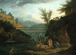 Noon | Claude Joseph Vernet | Oil Painting