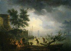 Sunrise | Claude Joseph Vernet | Oil Painting