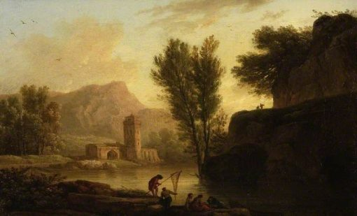 View on the Arno | Claude Joseph Vernet | Oil Painting