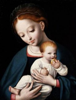 Virgin and Child | Cornelis van Cleve | Oil Painting