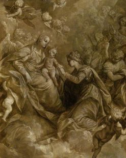 The Mystical Marriage of Saint Catherine of Alexandria | Donato Creti | Oil Painting