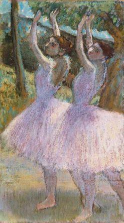 Danseuses aux jupes violettes
