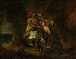 The Bride of Abydos | Eugene Delacroix | Oil Painting