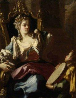 Wisdom or Nobility | Francesco de Mura | Oil Painting