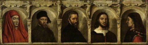 Portrait of Fuve Artists: Giotto