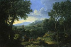 Landscape near Rome | Gaspard Dughet | Oil Painting