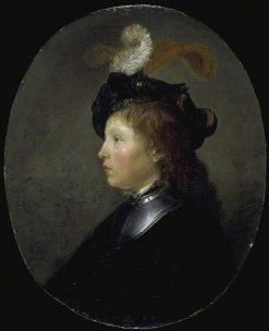 Portrait of a Young Man | Gerrit Dou | Oil Painting
