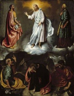 The Transfiguration | Giovanni Battista Moroni | Oil Painting