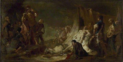 The Death of Darius | Giovanni Battista Piazzetta | Oil Painting
