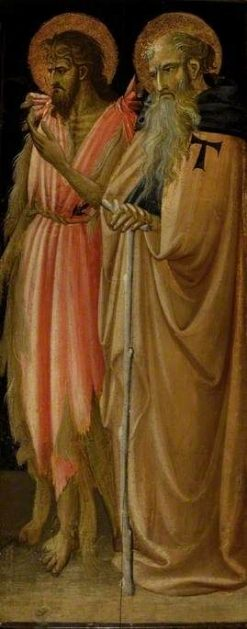 Saint John the Baptist and Saint Anthony Abbot (recto) | Giovanni dal Ponte | Oil Painting
