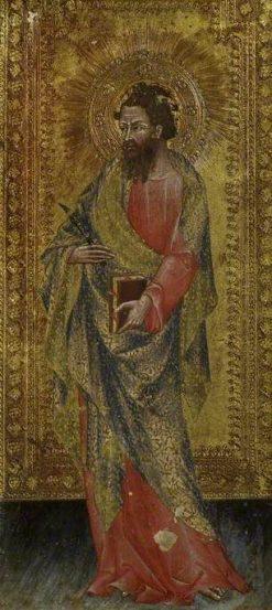 Saint Bartholomew | Giovanni di Paolo | Oil Painting