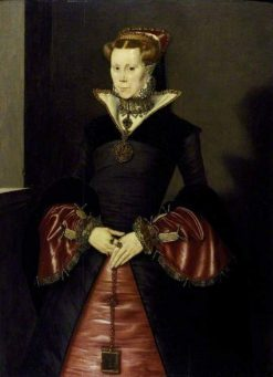 Female Portrait (possibly Queen Mary I) | Hans Eworth | Oil Painting