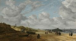 View of Scheveningen Sands | Hendrick van Anthonissen | Oil Painting