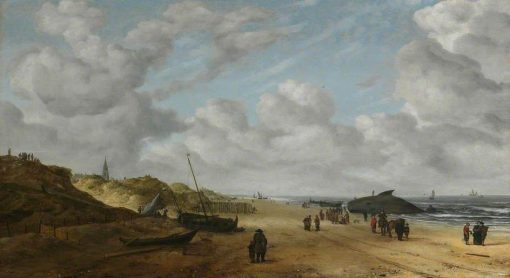 View of Scheveningen Sands | Hendrick van Anthonissen | Oil Painting