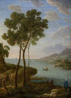 Coast Scene | Hendrik Frans van Lint | Oil Painting