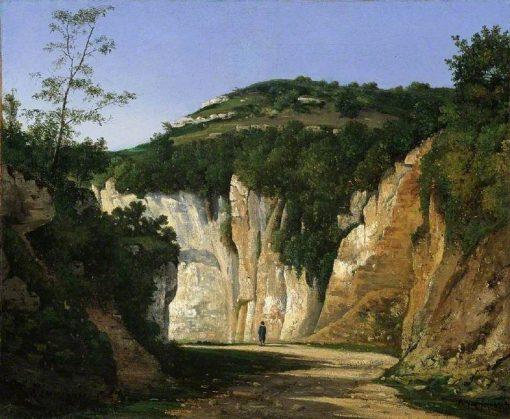 Crémieu | Henri Joseph Harpignies | Oil Painting