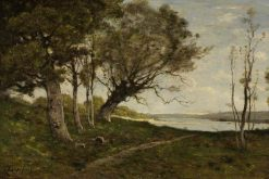 The Lake | Henri Joseph Harpignies | Oil Painting