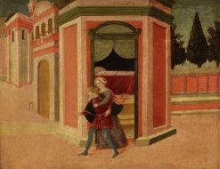 Joseph and Potiphar's Wife | Italian school th Century   Unknown | Oil Painting