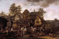 Village Festival | Jan Havicksz. Steen | Oil Painting