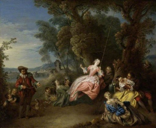 The Swing | Jean Baptiste Pater | Oil Painting