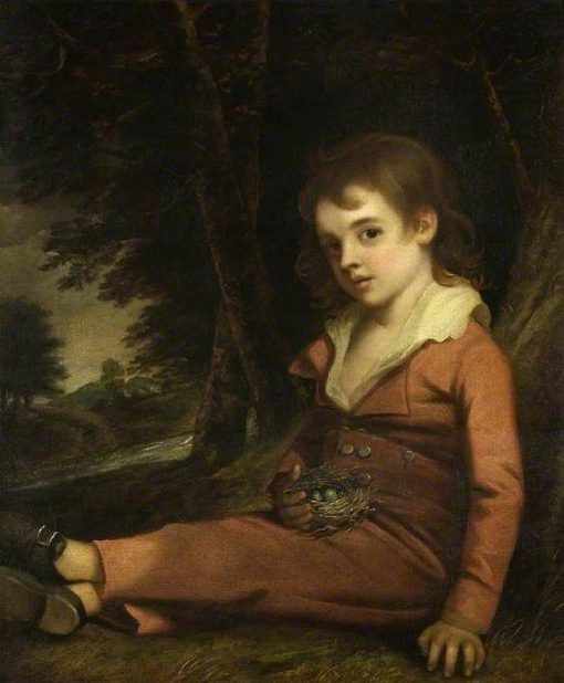 Boy with a Bird's Nest | John Hoppner | Oil Painting