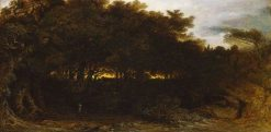 Twilight in the Woodlands | John Martin | Oil Painting