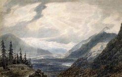 Pays de Valais | John Robert Cozens | Oil Painting