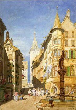 Schaffhausen | John Sell Cotman | Oil Painting