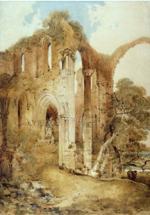 Fountains Abbey | John Sell Cotman | Oil Painting