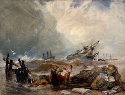 The Wreck of the Houghton Hall | John Sell Cotman | Oil Painting