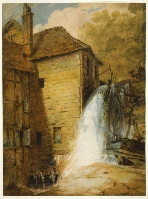 An Overshot Mill   John Sell Cotman   Oil Painting