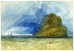 The Bass Rock | John Sell Cotman | Oil Painting