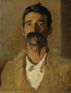 Study of a Sicilian Peasant | John Singer Sargent | Oil Painting