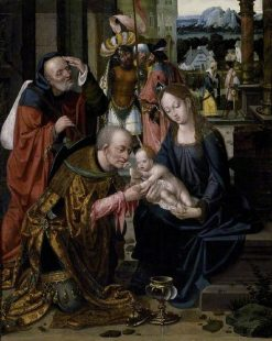 Adoration of the Kings | Joos van Cleve | Oil Painting