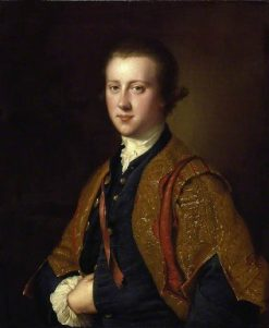 The Honourable Richard Fitzwilliam | Joseph Wright of Derby | Oil Painting