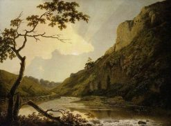Matlock Tor | Joseph Wright of Derby | Oil Painting