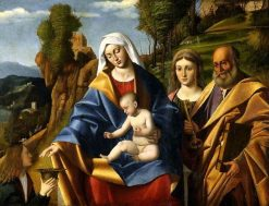 Virgin and Child with Saints | Marco Basaiti | Oil Painting