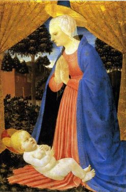 Virgin Adoring the Child | Master of the Castello Nativity | Oil Painting