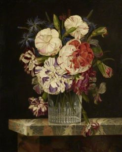 A Glass of Flowers | Michel Joseph Speeckaert | Oil Painting