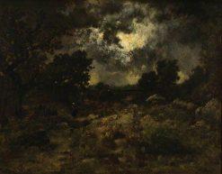 Storm in the Forest of Fontainbleau | Narcisse Dìaz de la Peña | Oil Painting