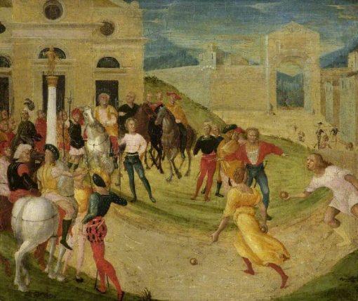 Atalanta's Race | Niccolò Giolfino the Younger | Oil Painting
