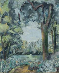 Landscape (verso) | Paul Nash | Oil Painting