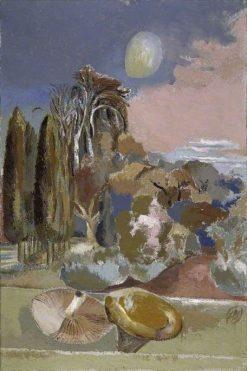 November Moon   Paul Nash   Oil Painting