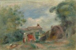Landscape with Figures   Pierre Auguste Renoir   Oil Painting