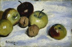 Apples and Walnuts | Pierre Auguste Renoir | Oil Painting