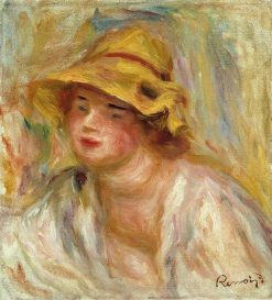 Study of a Girl | Pierre Auguste Renoir | Oil Painting